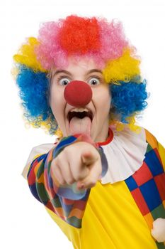 funny-clown-isolated-on-white-background